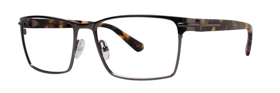 Zac Posen PRODUCER Gunmetal Eyeglasses Size56-17-145.00