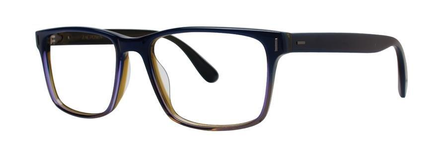 Zac Posen RACER Blue Gradient Eyeglasses Size57-17-148.00