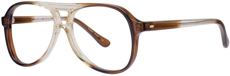 Gallery RAYMOND Brown Fade Eyeglasses Size46-20-135.00