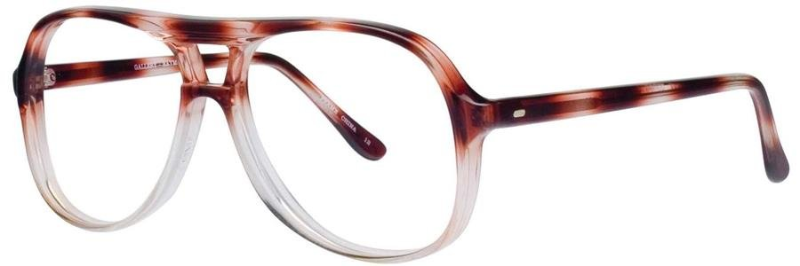 Gallery RAYMOND Brown Mtl Eyeglasses Size46-20-135.00