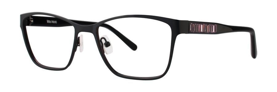 Vera Wang REENA Black Eyeglasses Size52-16-135.00