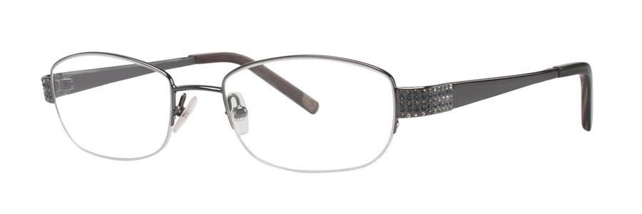 Vera Wang REGALIA Gunmetal Eyeglasses Size51-18-132.00