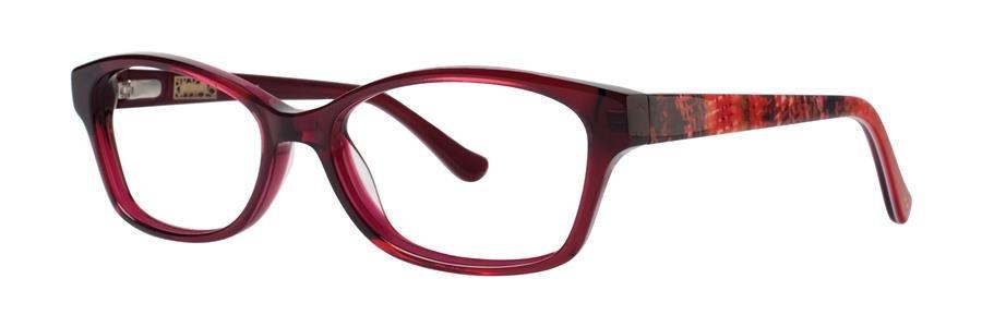 kensie RENDEZVOUS Red Eyeglasses Size53-15-135.00