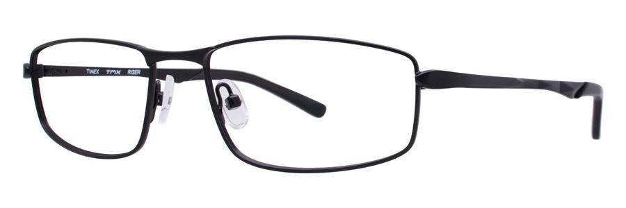 Timex RISER Black Eyeglasses Size55-16-135.00