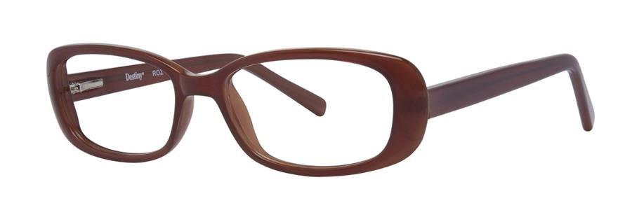 Destiny ROZ Brown Eyeglasses Size52-18-140.00
