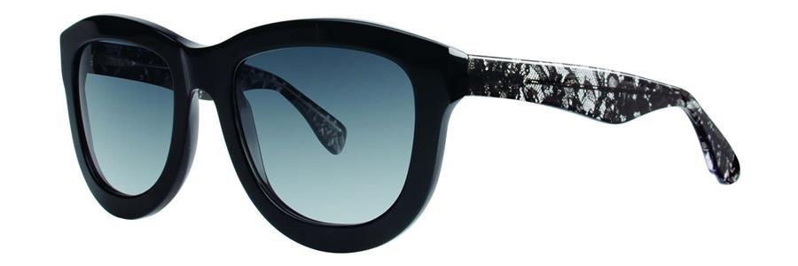 Vera Wang SAFIRA Black Sunglasses Size56-20-135.00