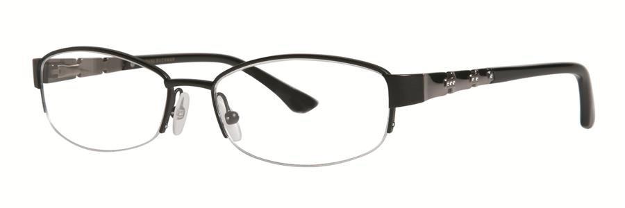 Dana Buchman SALOME Black Eyeglasses Size52-16-135.00