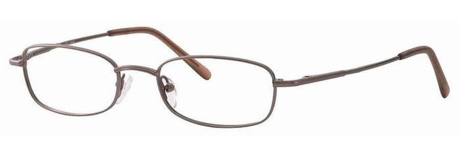 Gallery SAM Brown Eyeglasses Size49-19-135.00