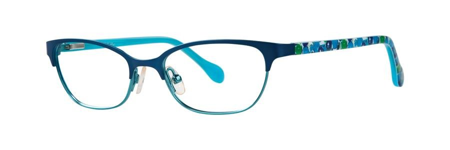 Lilly Pulitzer SAMMI Navy Eyeglasses Size45-15-120.00