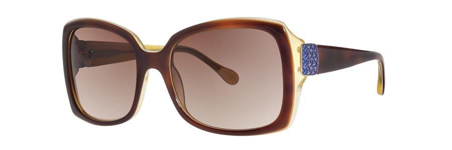 Lilly Pulitzer SANDRA Tortoise Eyeglasses Size55-18-130.00