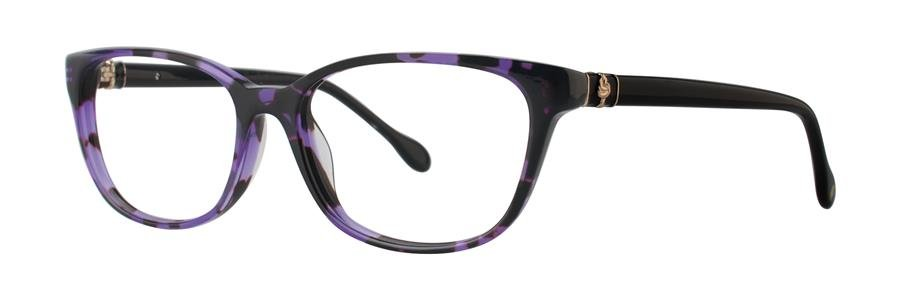 Lilly Pulitzer SANIBEL Grape Tortoise Eyeglasses Size51-16-135.00