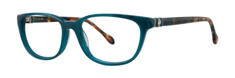 Lilly Pulitzer SANIBEL Teal Marble Eyeglasses Size53-16-135.00