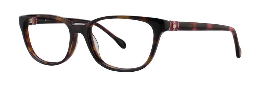Lilly Pulitzer SANIBEL Tortoise Eyeglasses Size51-16-135.00