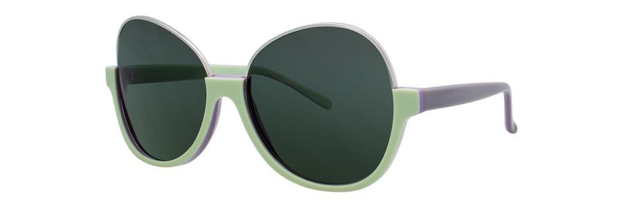 Vera Wang SAPPHO Green Sunglasses Size56-15-135.00