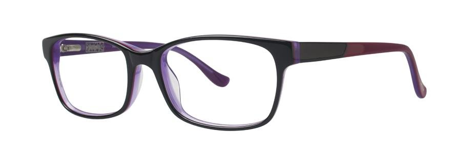 kensie SASSY Black Eyeglasses Size53-16-135.00