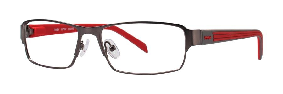 Timex SCORE Gunmetal Eyeglasses Size52-15-140.00