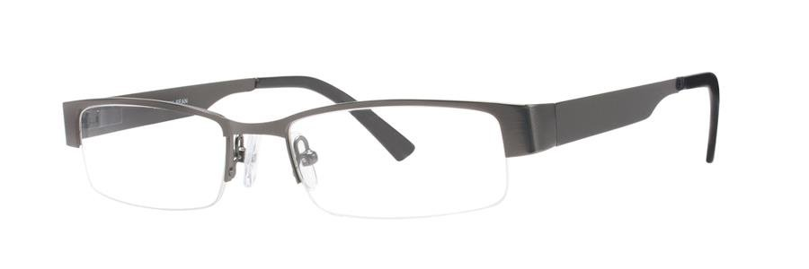 Gallery SEAN Gunmetal Eyeglasses Size52-17-135.00