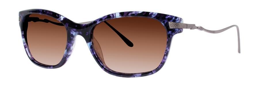 Vera Wang SEBILLE Purple Tortoise Sunglasses Size52-18-135.00