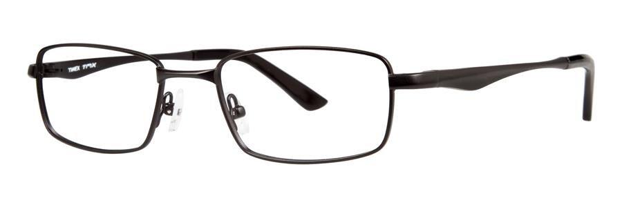 Timex SECTOR Black Eyeglasses Size52-19-135.00
