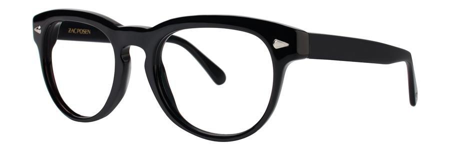 Zac Posen SERGE Black Eyeglasses Size51-20-143.00