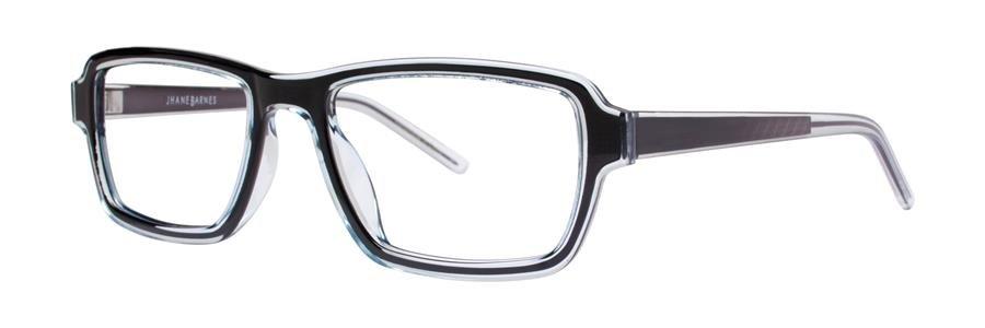 Jhane Barnes SET Black Eyeglasses Size53-19-140.00
