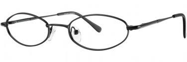 Gallery SHANNON Black Eyeglasses Size50-18-135.00