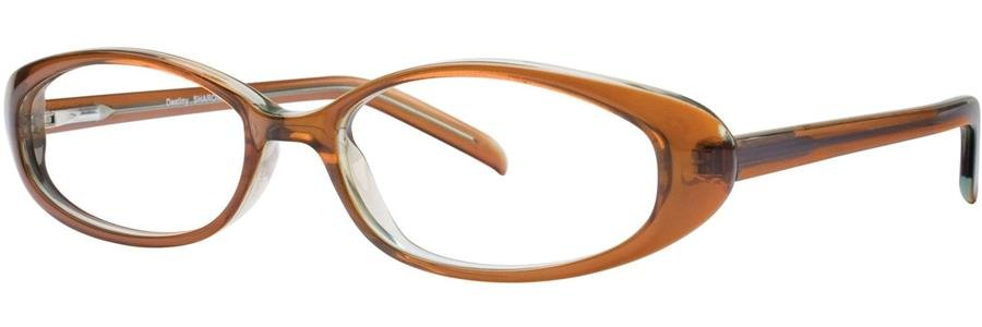 Destiny SHARON Brown Eyeglasses Size49-16-135.00