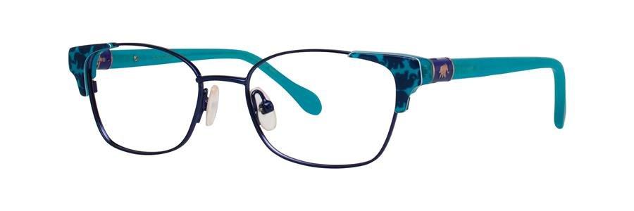 Lilly Pulitzer SHELDRAKE Navy Eyeglasses Size45-15-125.00
