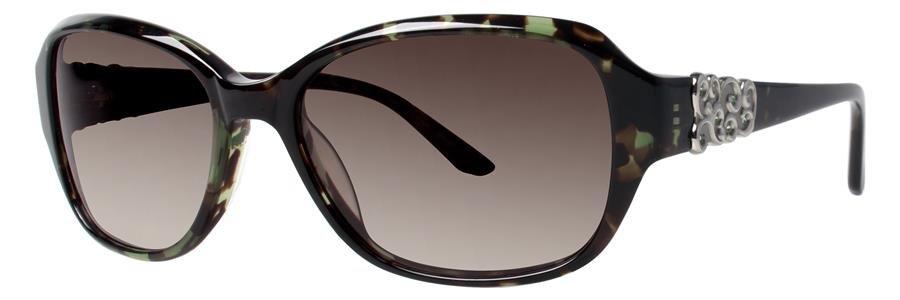 Dana Buchman SHIRIN Emerald Tortoise Eyeglasses Size55-16-135.00