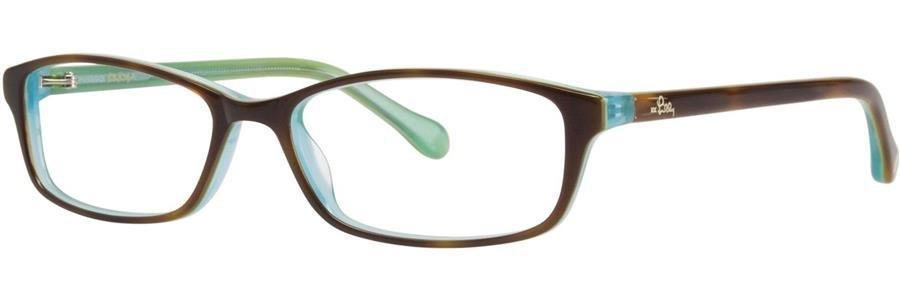 Lilly Pulitzer SIERRA Turtle Eyeglasses Size51-15-130.00