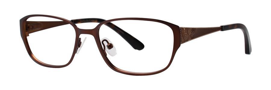 Dana Buchman SIMZA Brown Eyeglasses Size52-15-140.00