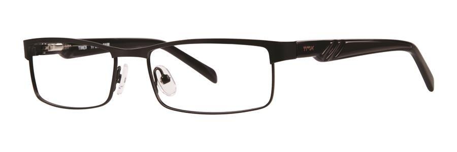 Timex SLALOM Black Eyeglasses Size51-16-130.00