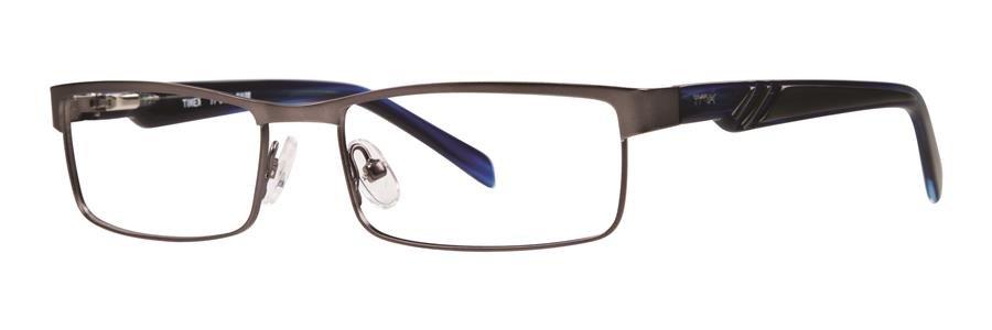 Timex SLALOM Gunmetal Eyeglasses Size53-16-135.00