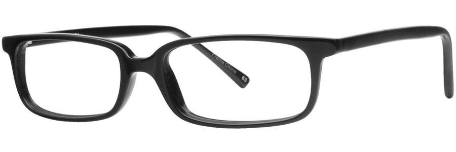 Gallery SMITH Black Eyeglasses Size49-18-135.00