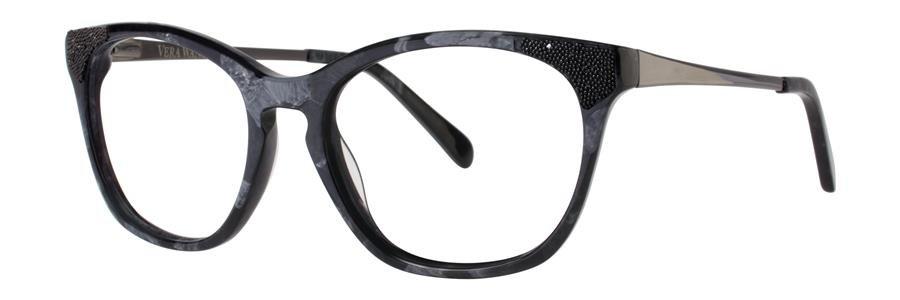 Vera Wang SORAYA Black Eyeglasses Size52-17-135.00