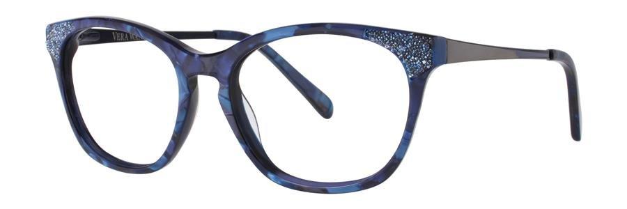 Vera Wang SORAYA Navy Eyeglasses Size52-17-135.00