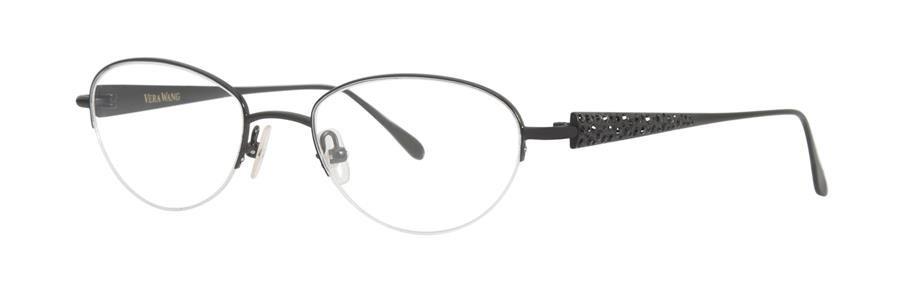 Vera Wang SPLENDID Black Eyeglasses Size48-18-133.00