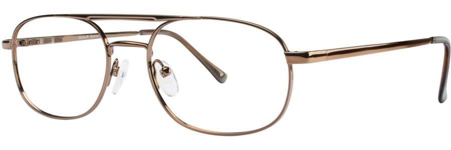 Gallery STANLEY Brown Eyeglasses Size54-18-145.00