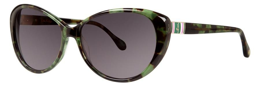 Lilly Pulitzer STANTON Green Sunglasses Size56-15-135.00