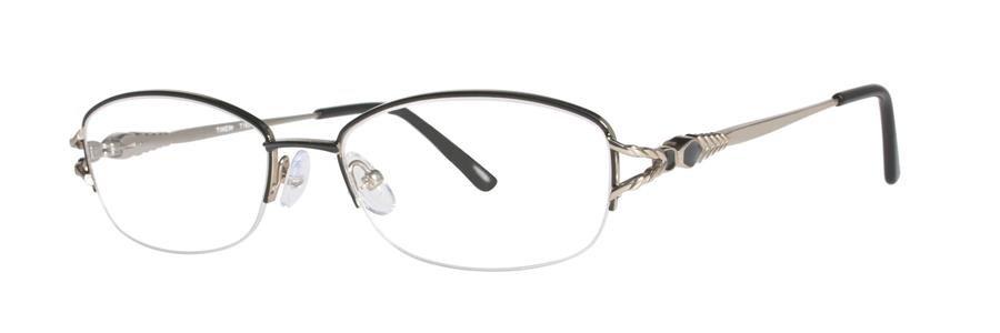 Timex T183 Black Eyeglasses Size54-17-137.00
