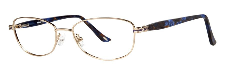 Timex T198 Gold Eyeglasses Size52-17-135.00