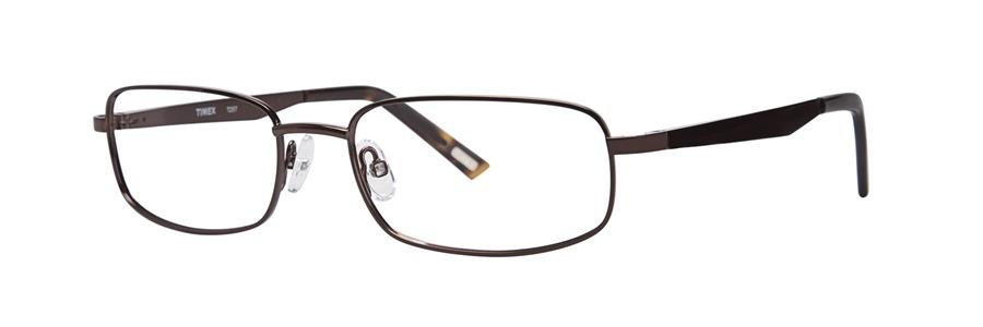 Timex T257 Brown Eyeglasses Size56-18-142.00
