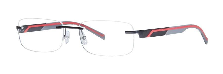 Timex T260 Black Eyeglasses Size55-17-140.00
