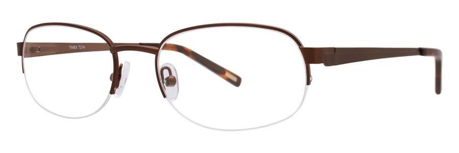 Timex T274 Brown Eyeglasses Size54-19-145.00