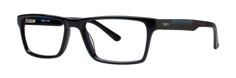 Timex T282 Black Eyeglasses Size52-17-140.00