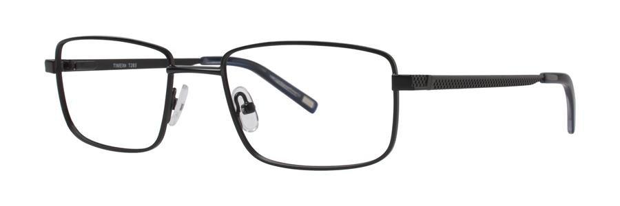 Timex T283 Black Eyeglasses Size52-18-140.00