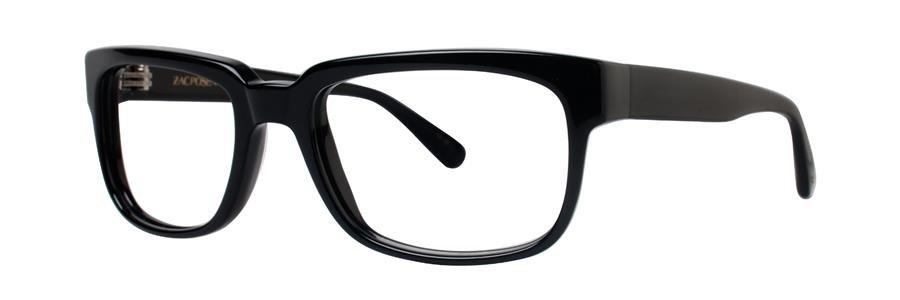 Zac Posen TECH Black Eyeglasses Size55-19-140.00