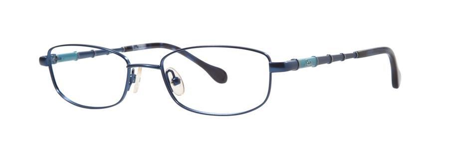 Lilly Pulitzer TEEKI Navy Eyeglasses Size49-17-135.00