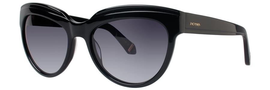 Zac Posen TENNILLE Black Sunglasses Size56-18-135.00