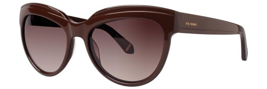 Zac Posen TENNILLE Brown Sunglasses Size56-18-135.00
